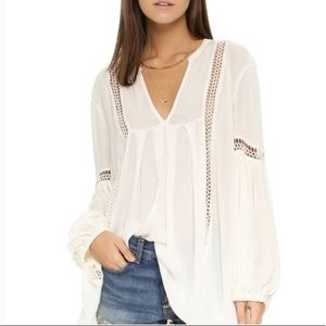 Free People Just The Two of Us Tunic Top